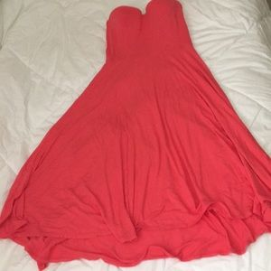 Victoria's Secret strapless dress